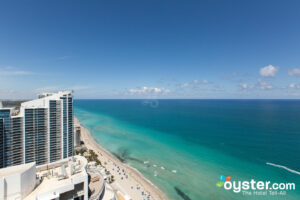 View from Diplomat Suite at The Diplomat Beach Resort Hollywood, Curio Collection by Hilton