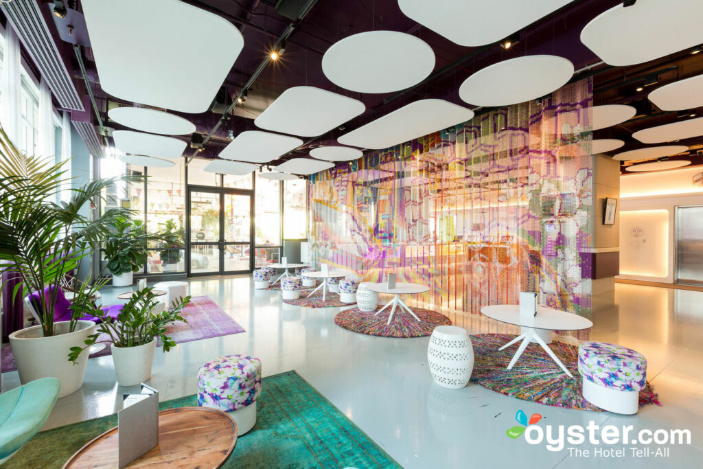 The Terrace & Club Lounge at YOTEL New York