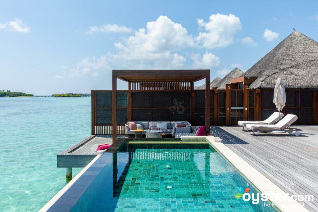 A Suíte de Água com 2 Quartos no Four Seasons Resort Maldives em Kuda Huraa