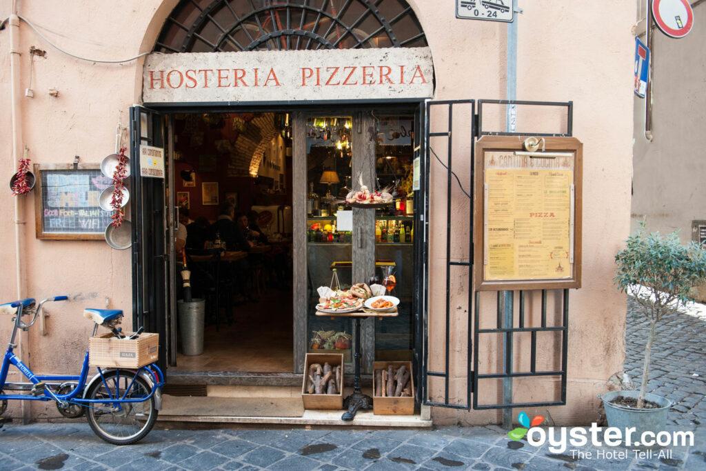 Restaurante em Roma
