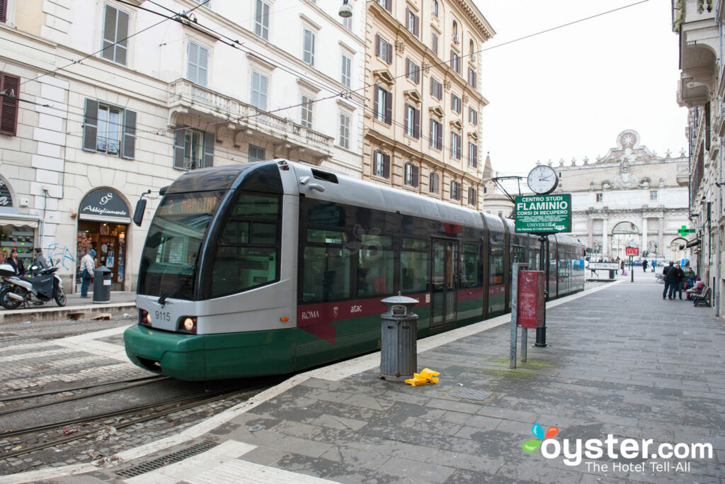 Trams in Rome