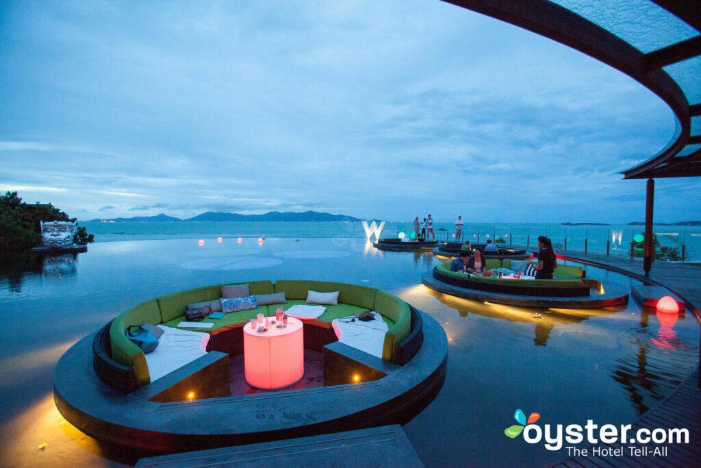 W Lounge en el W Koh Samui