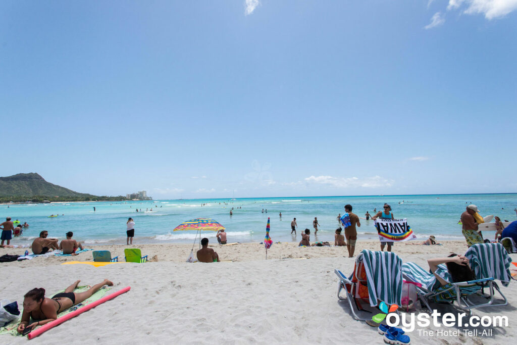 Paseo por la playa de Waikiki