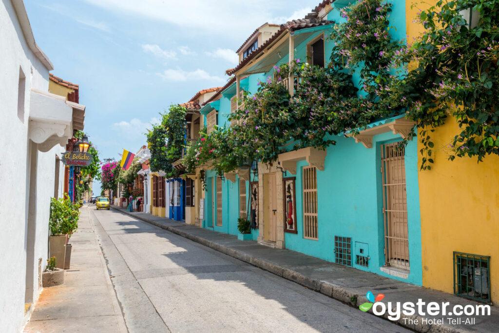 Città murata, Cartagena