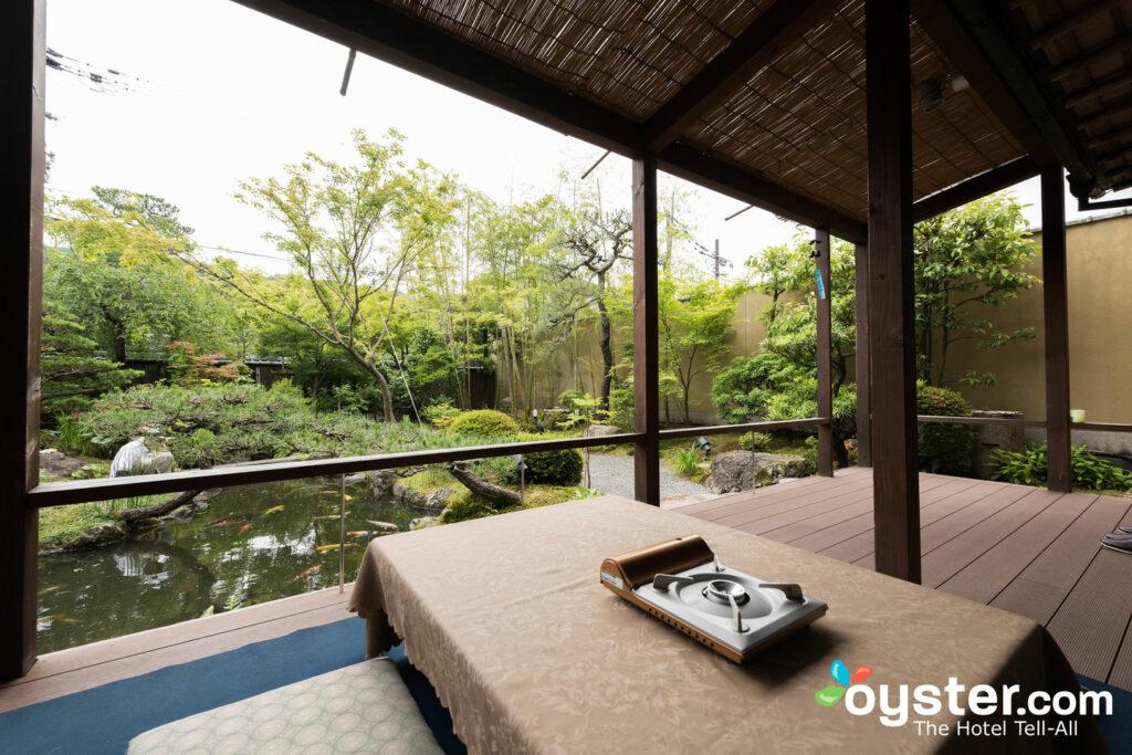 Jardín en Kyoto Garden Ryokan Yachiyo