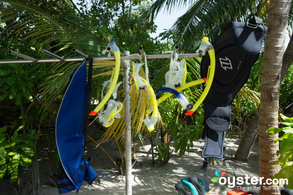 Sports nautiques au W Maldives