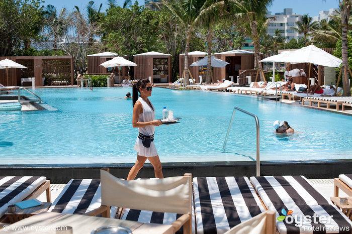 O W South Beach, inaugurado em maio de 2009, é um dos melhores hotéis de luxo em Miami