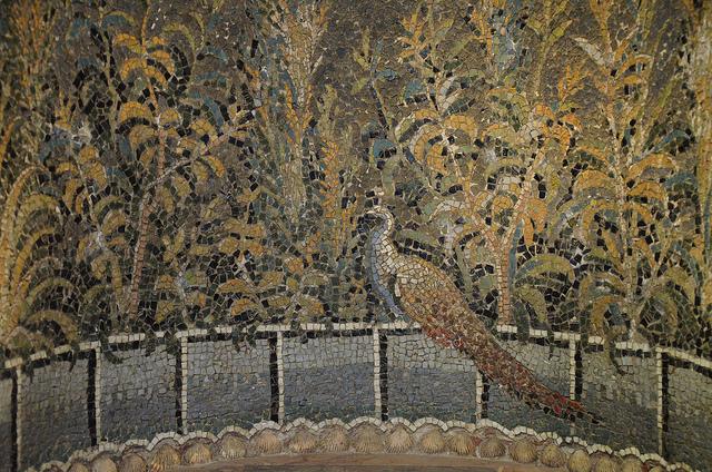 Mosaic from Baiae; photo by Carole Raddato via Flickr