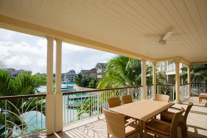 Three Bedroom Villa at The Landings St. Lucia/Oyster