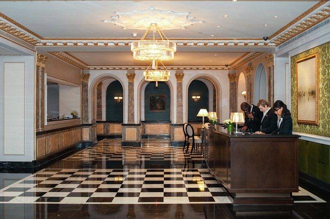 Concierge Desk at The Pierre, a Taj Hotel/Oyster