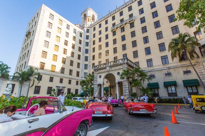 Entrance at the Hotel Nacional de Cuba/Oyster