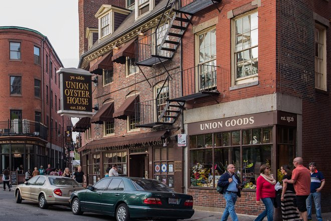 Union Oyster House in Boston/Oyster