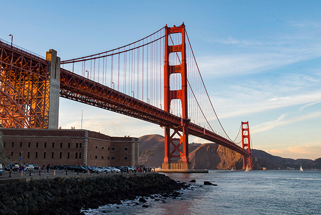 Golden Gate Bridge, San Francisco/Oyster