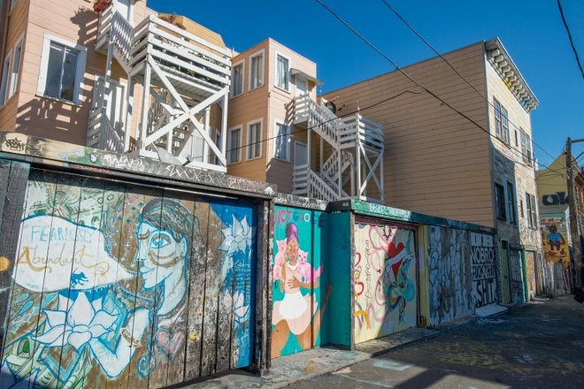 Clarion Alley in San Francisco/Oyster