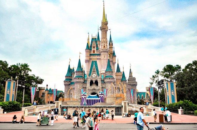 Magic Kingdom, Disney World, Orlando/Oyster