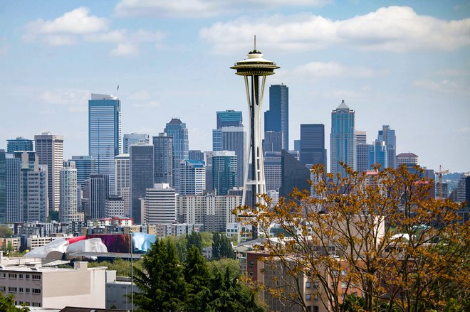 View from Queen Anne, Seattle/Oyster