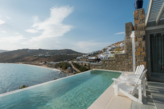The Two Bedroom Villa at the Greco Philia - Luxury Suites & Villas/Oyster