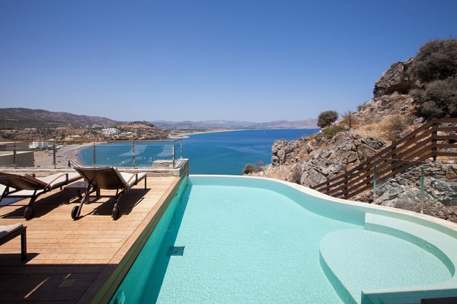 Thetis Maisonette at the Lindos Blu/Oyster