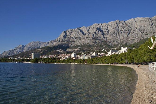 Makarska Beach; Tony Hisgett/Flickr