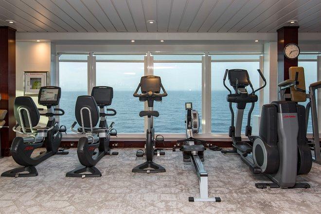 Fitness Center on Azamara Journey/Oyster
