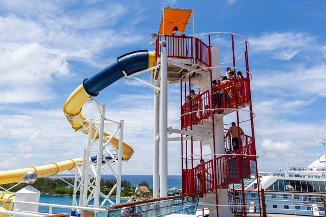 Carnival WaterWorks on Carnival Sensation/Oyster