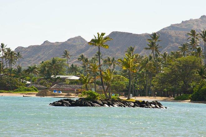 Vista desde en The Kahala Hotel and Resort / Oyster