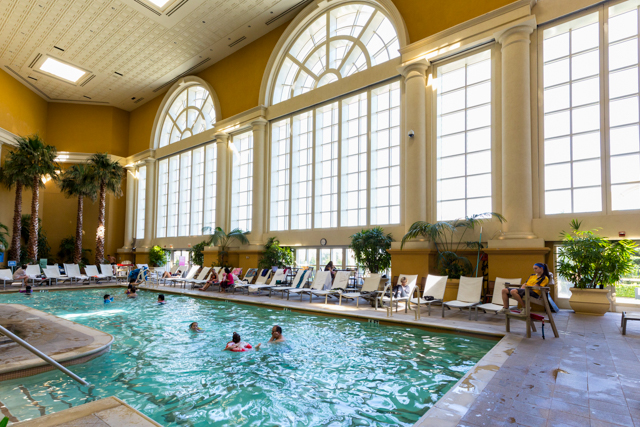 The Indoor Pool at the Borgata Hotel Casino & Spa/Oyster
