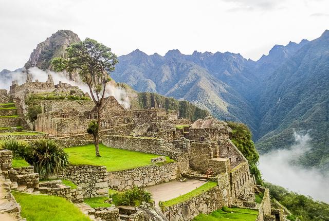 Machu Picchu/Oyster