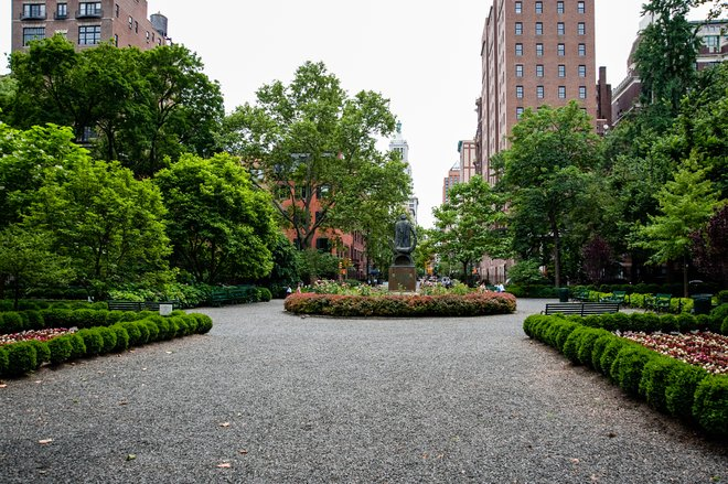 Gramercy Park at the Gramercy Park Hotel/Oyster
