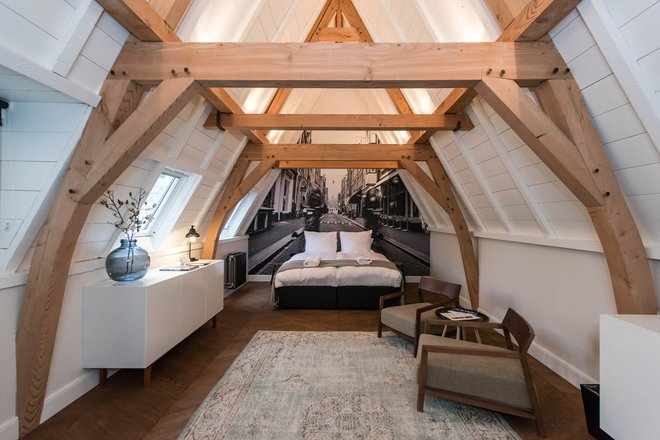 The Wolvenstraat Suite at the Hotel IX Amsterdam/Oyster