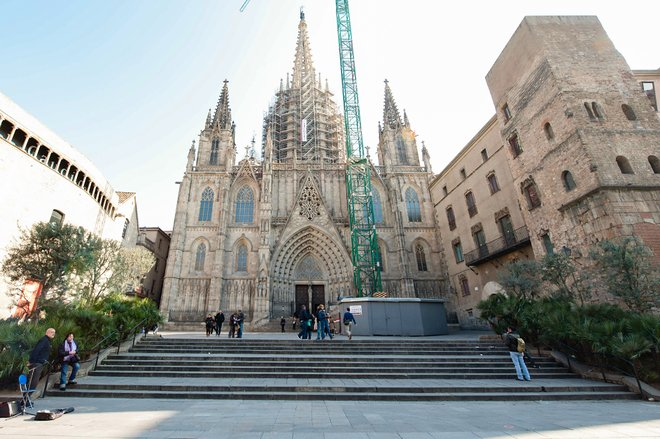 Cathedral of Santa Eulalia, Gothic Quarter, Barcelona/Oyster