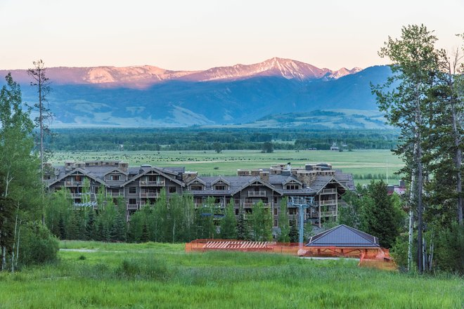 Grounds at Four Seasons Resort and Residences Jackson Hole/Oyster