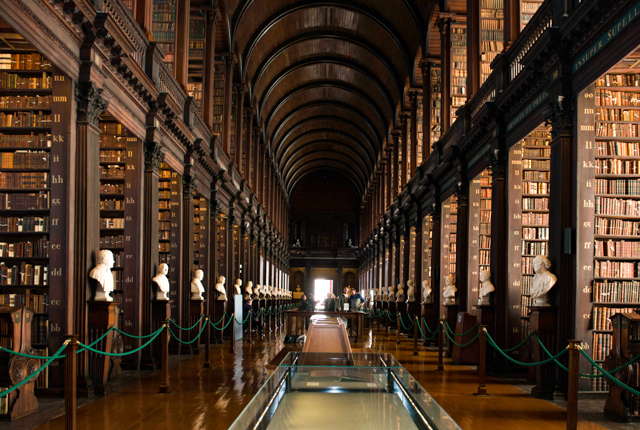 The Long Room, Trinity College/Oyster