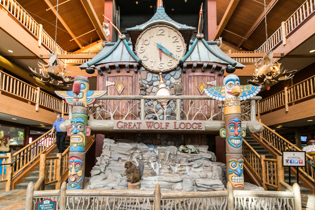 The Great Wolf Lodge/Oyster