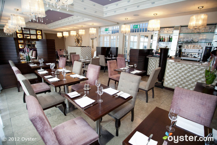 The Dylan Restaurant serves a healthy menu in a relaxed but chic atmosphere.