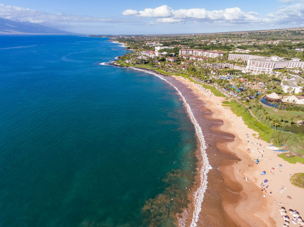 Aerial Photography at Four Seasons Resort Wailea