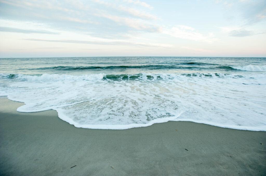 Beach at Sea Crest Inn, Cape May