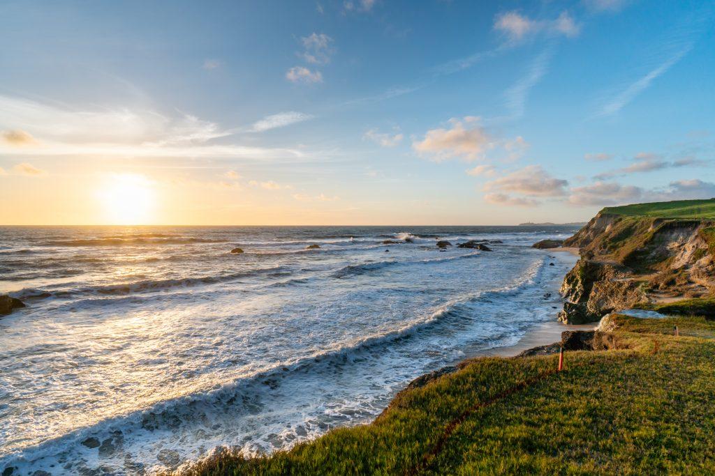 Beach at The Ritz-Carlton, Half Moon Bay