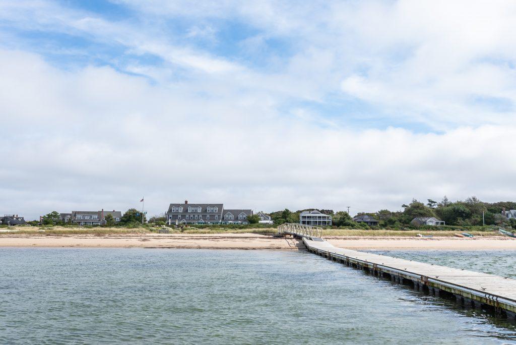 Beach at The Wauwinet in Nantucket, Massachusetts