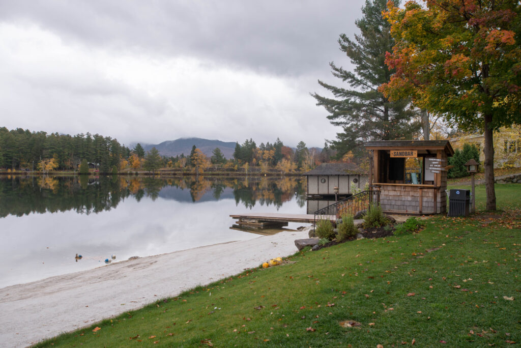 Grounds at Golden Arrow Lakeside Resort, Lake Placid