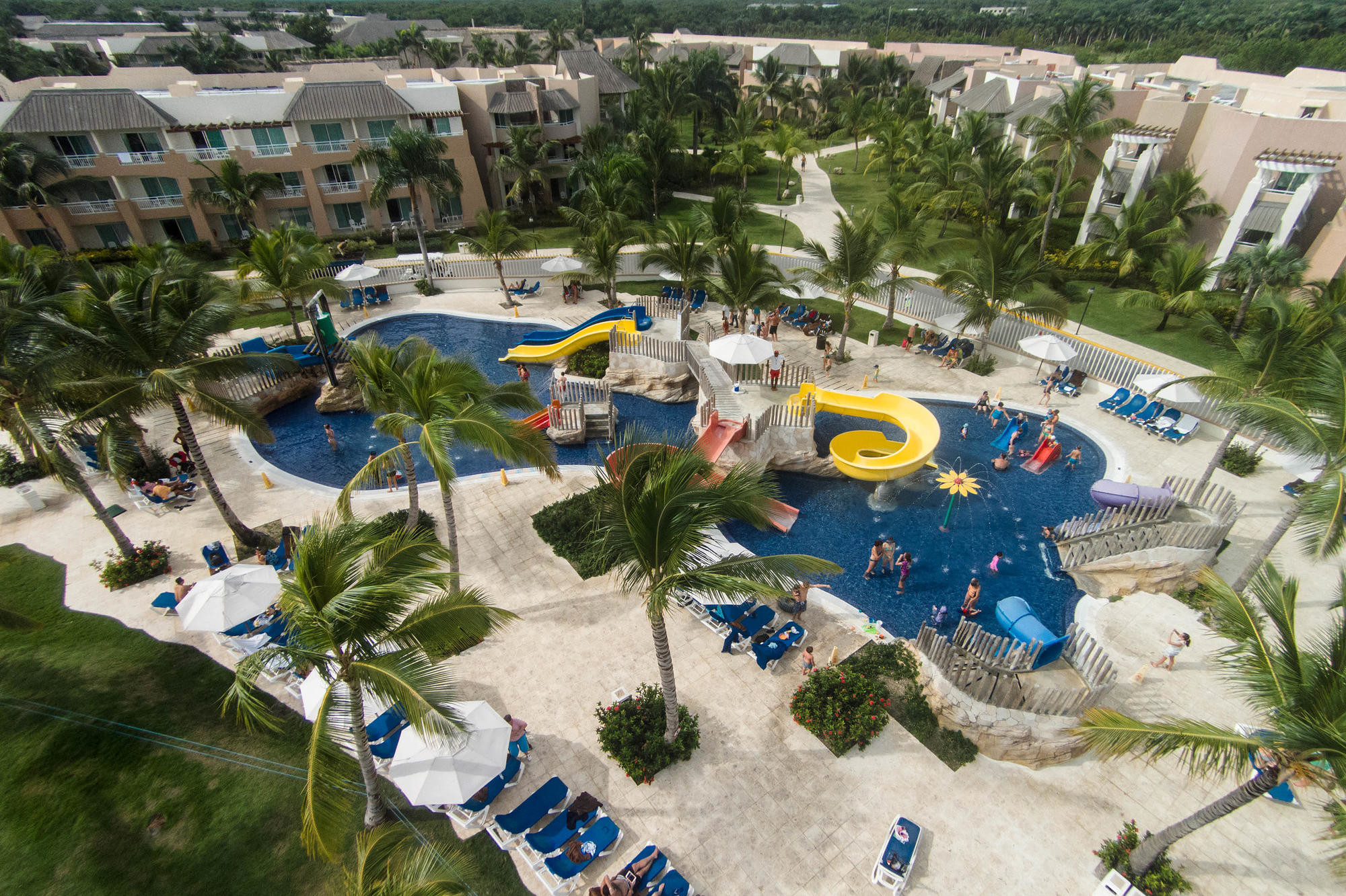 One of the water park areas at Memories Splash Punta Cana