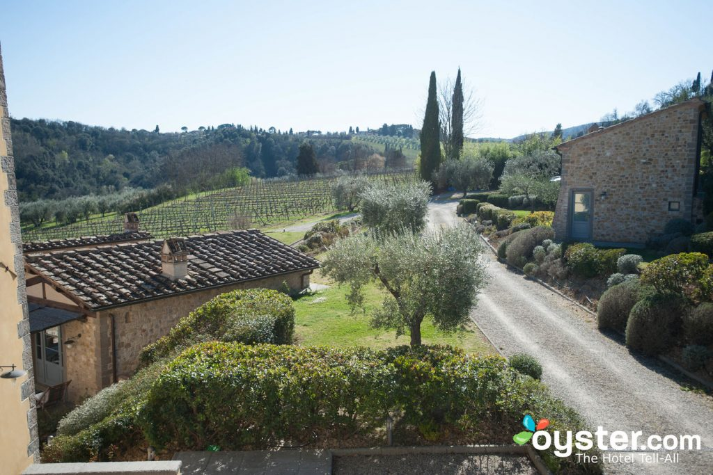 Grounds of the Agriturismo Guardastelle in San Gimignano