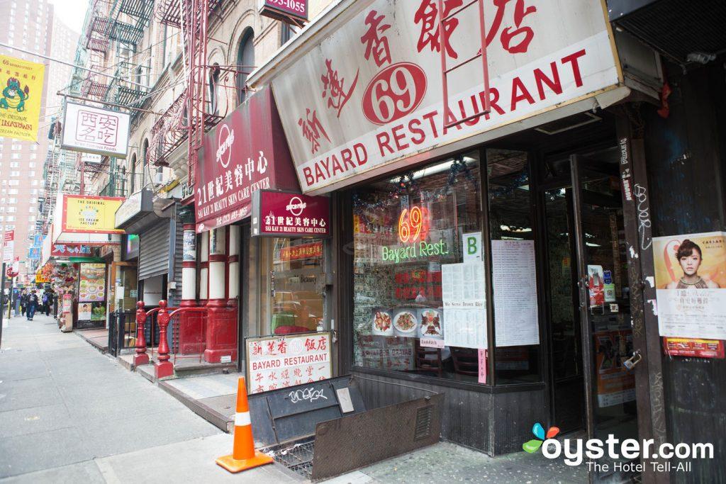 Chinatown à Manhattan est juste l'une des destinations gastronomiques internationales de NYC.