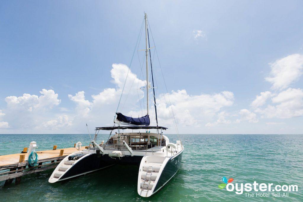 Catamaran at the Zoetry Paraiso de la Bonita