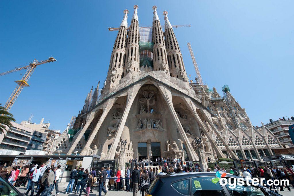 La Sagrada Familia is just one of Barcelona's crown jewels.