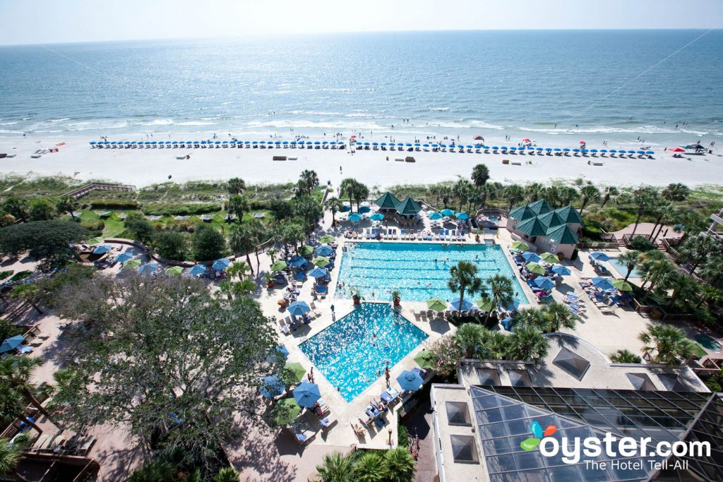 Pool and Beach at Hilton Head Marriott Resort & Spa/Oyster