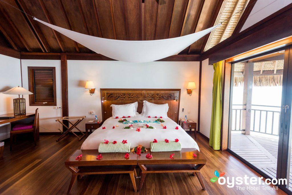 Foto: La habitación de lujo en el Sofitel Bora Bora Private Island / Oyster