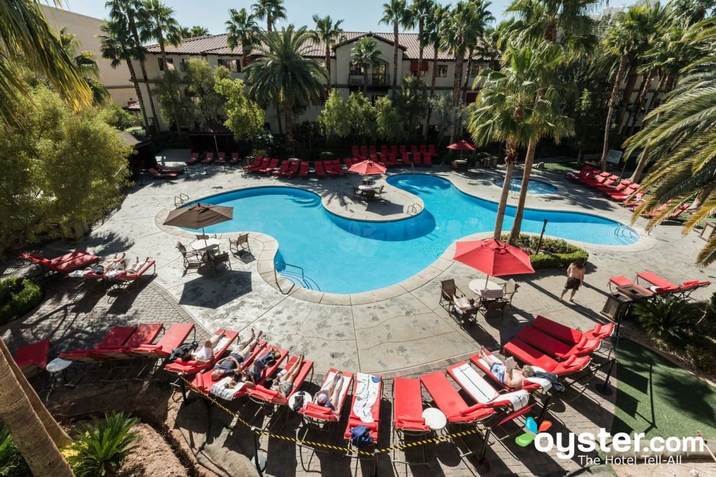 The Pool at the Tuscany Suites & Casino