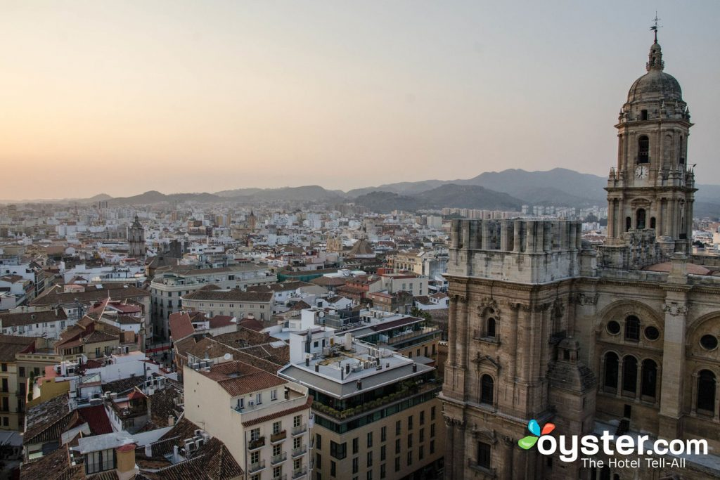 The sunset in Malaga is another must-see.