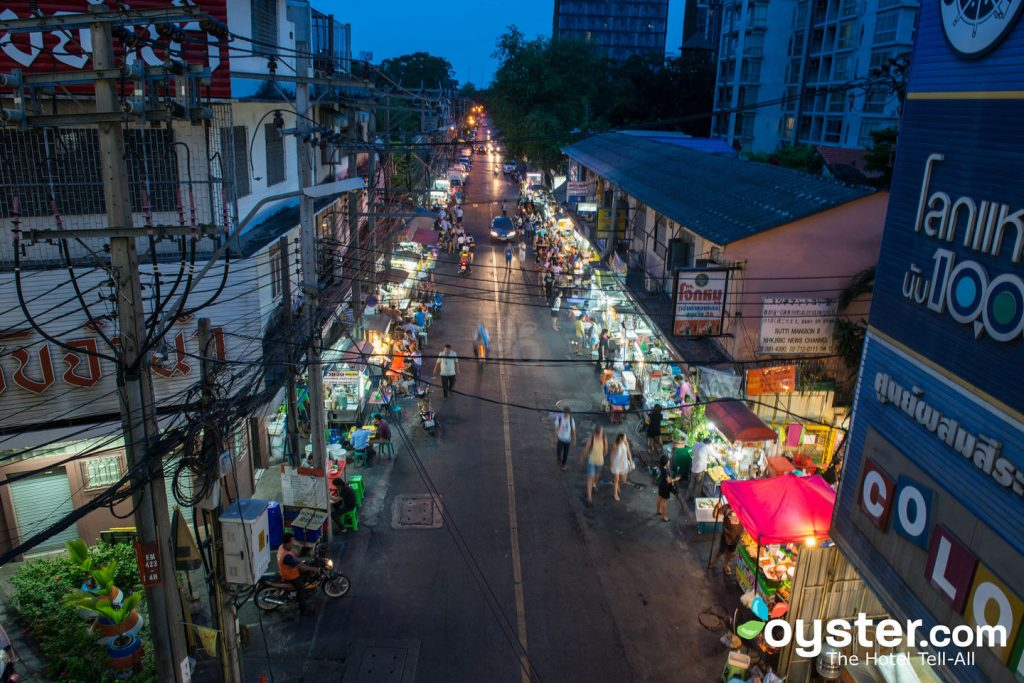 Bangkok's street markets are a riot of sights, sounds, and smells.